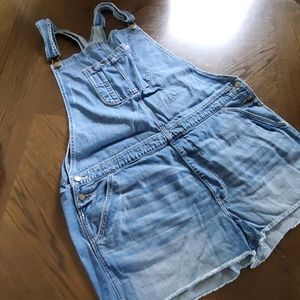 American Eagle Overall Shorts (Bibs)